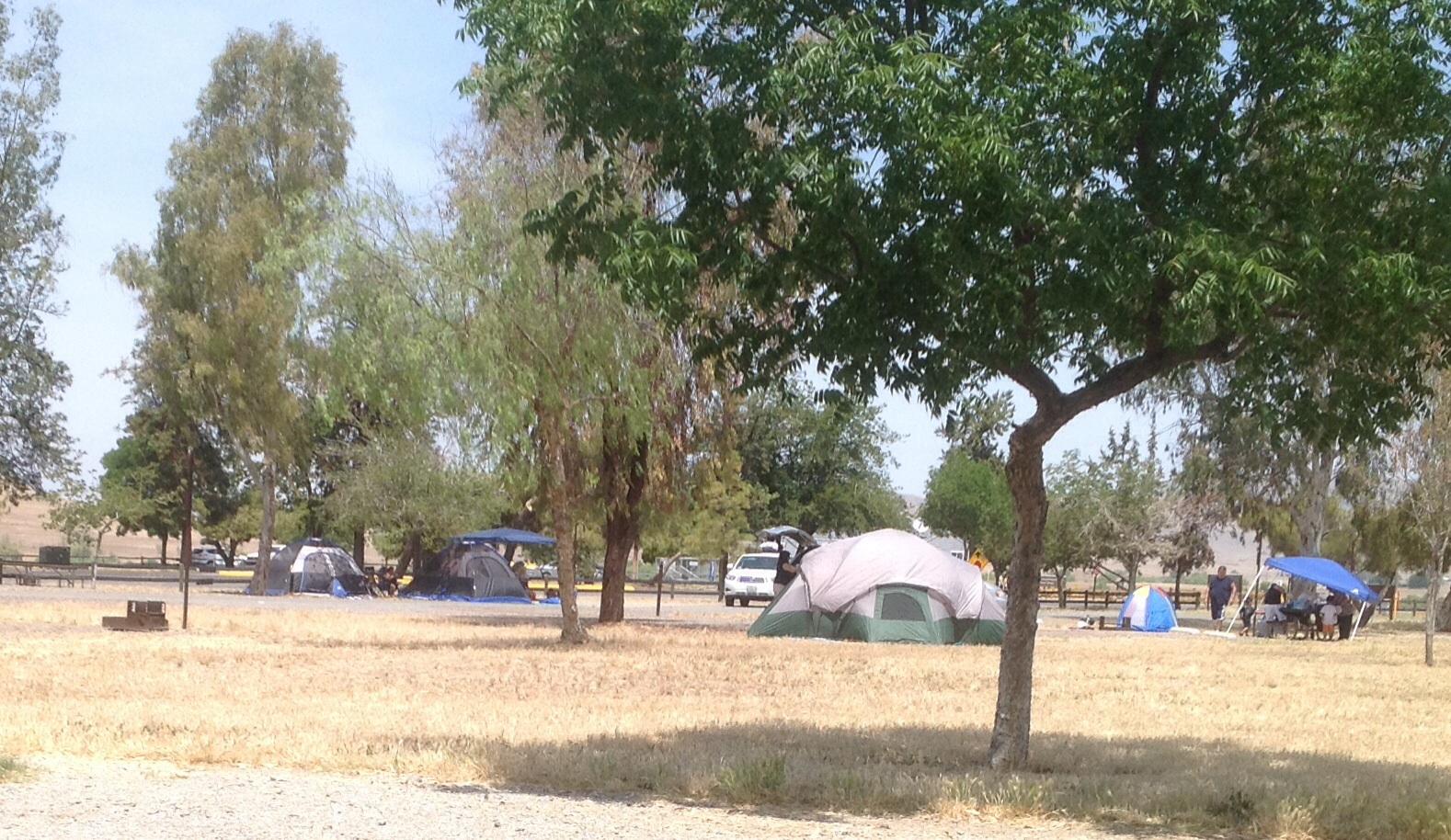 Tule Campground Success Lake COE Porterville CA
