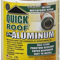"CoFair Product QR625 RV Trailer Camper Sealants Aluminum Roof Repair 6"" X 25' QUICK ROOF"
