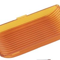 Gold Stars F3528016 Amber Replacement Lens for Rectangle Porch Light