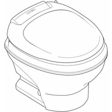 Thetford Rv Toilet Aqua Magic V Foot Flush Low Profile