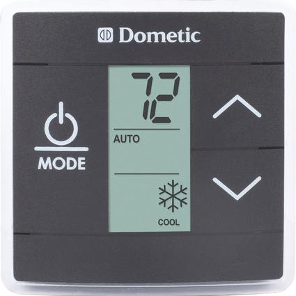 Dometic Single Zone Thermostat Wiring Diagram Upgraded Dometic Single Zone Rv Ac Thermostat Black