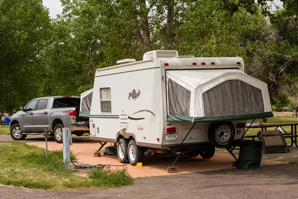 Pop Up Tent Trailer Rental