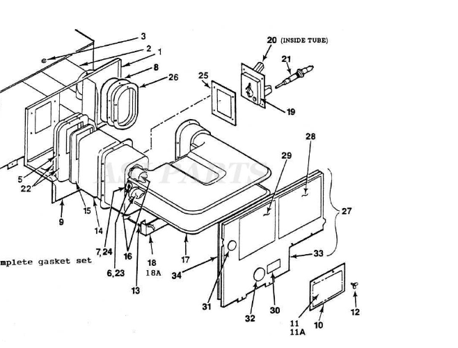 Coleman Air Conditioner Condenser Fan