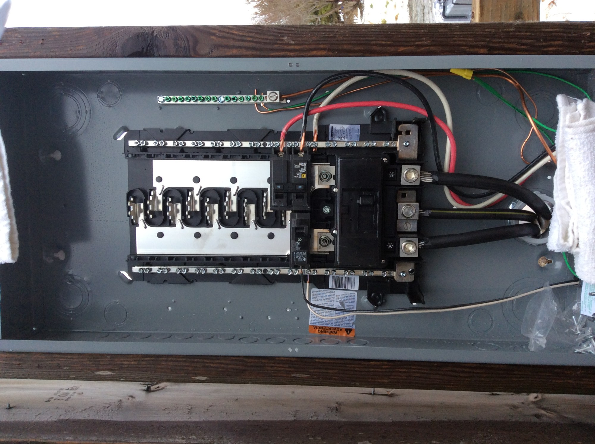 hight resolution of electrical 200 amp rv sites sub panel