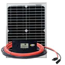 Go Power 10 Watt ECO Solar Kit (GP-ECO-10)