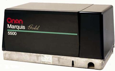 Onan 5500 Watt Marquis Gold Generator