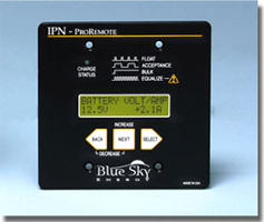Blue Sky Charge Controller Remote System Control Panel
