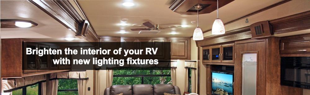 RV Interior Lights  Interior Lighting Fixtures
