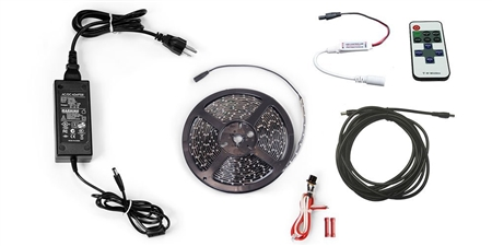 Carefree SR0113 LED RV Awning Light Kit, White, 16FT