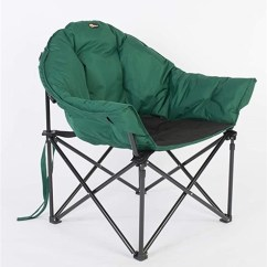 Big Folding Chairs Antique Rocking Chair Value Faulkner 52286 Dog Bucket Camping Green