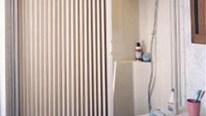 """Irvine 3657SW RV Pleated Shower Door 57"""" X 36"""" White"""