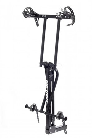 Softride 27041 Hitch Mounted Hang 2 Bike Rack