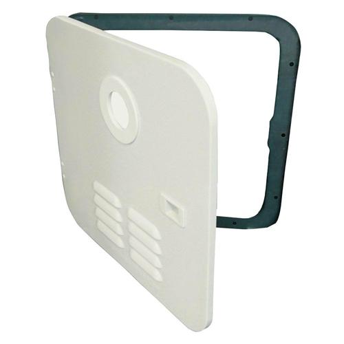 Girard 2GWHD Tankless Water Heater Polar White Door/Flange