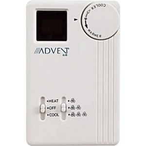 Advent Air ACTH11 Analog Air ConditionerFurnace Thermostat