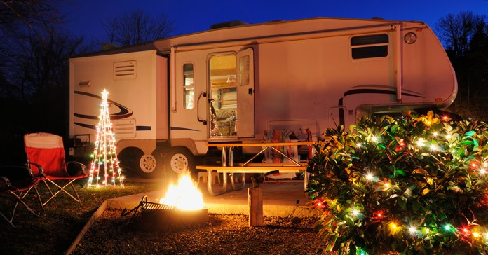 7 Ways To Still Have A Christmas Tree While Rving Rv