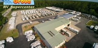 Ocean Grove RV Supercenter lot