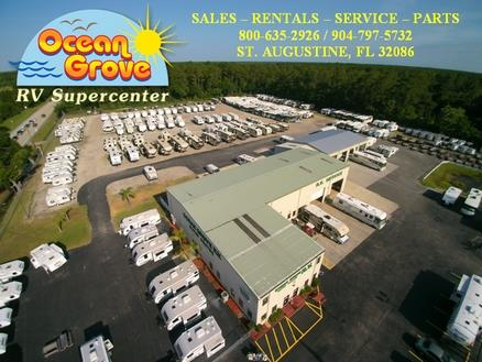 Ocean Grove RV Supercenter lot