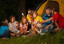Fun Camping for kids