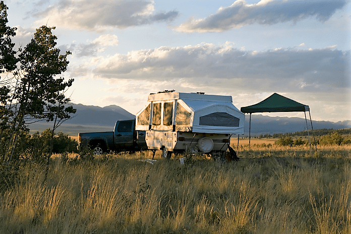 Pop Up Campers can go anywhere
