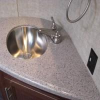 RV Bathroom Sinks & Faucets