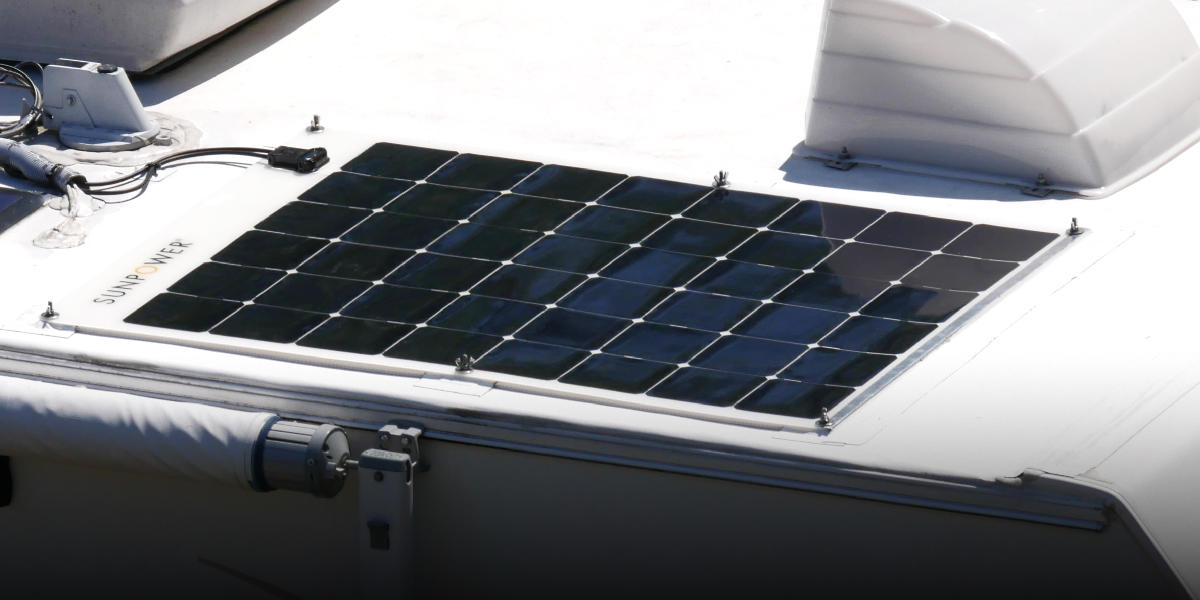 How to Mount Flexible Solar Panels without Drilling - RVWITHTITO