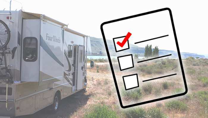 What To Check Before Boondocking