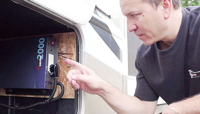 Using an Inverter to Provide AC Power When Boondocking