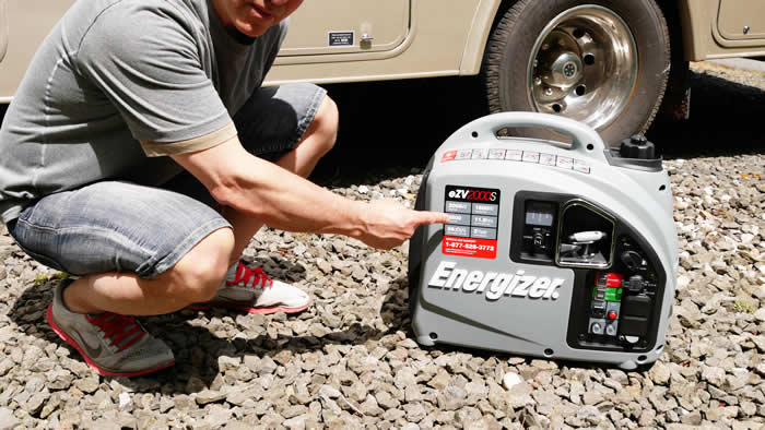 Energizer eZV2000S Portable Inverter Generator Review
