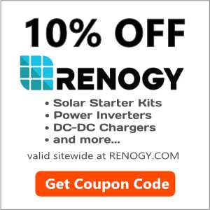 Get 10% OFF at Renogy.com - RVWITHTITO
