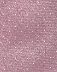 Skinny Pink Tie with Micro Dots | RW&CO.