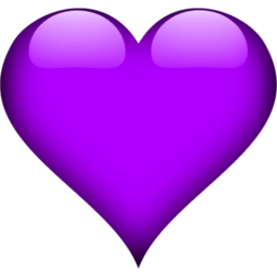 Image result for purple heart icon