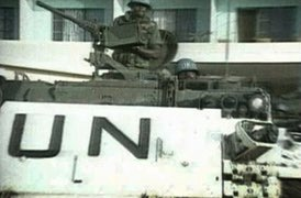 United Nations tank