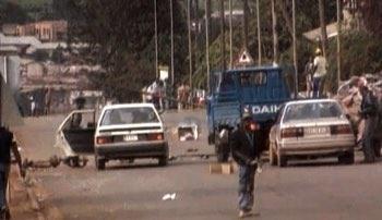 roadblocks in Kigali