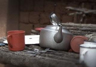 Rwanda kitchen