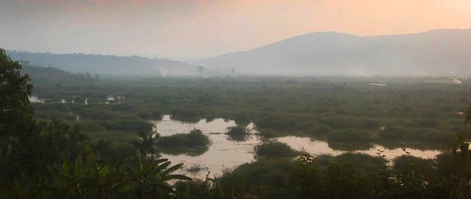 Nyabarongo river evening