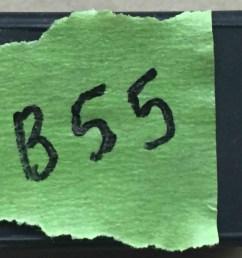 lucas 7fj fuse box cover mgb [ 3264 x 2448 Pixel ]