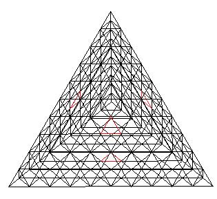 Tetrahelix Axes Passing Thru A Single Tetrahedron