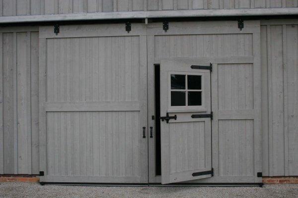 Exterior Barn Door Track Hardware