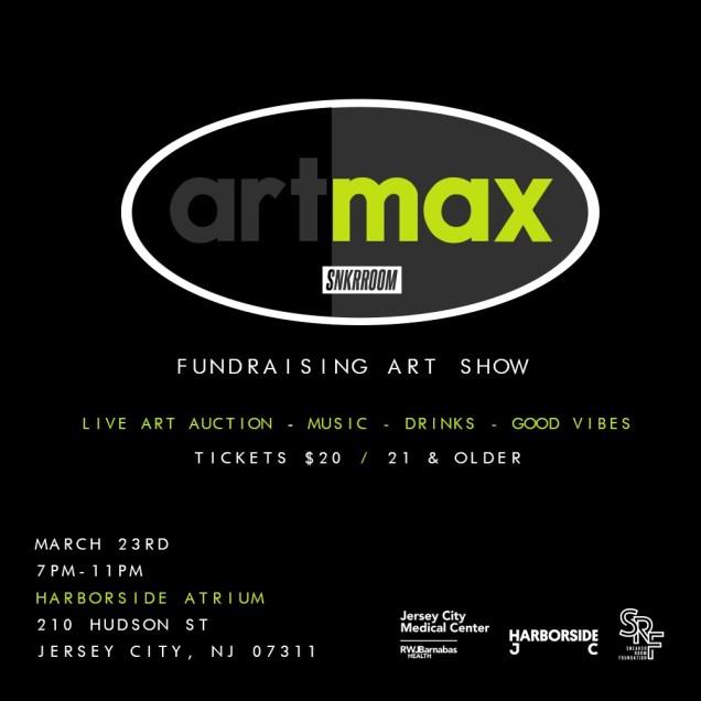 artmax sneaker room event