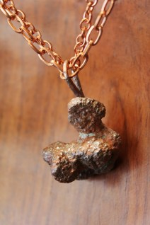Upcycled Copper Pendant Copper Jewelry