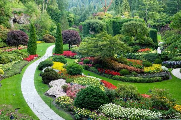 Butchart Gardens Vancouver Island Bc