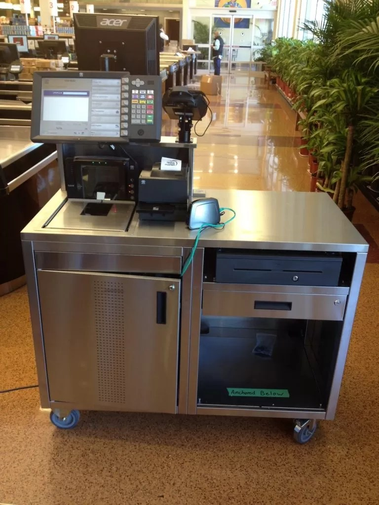 Store Checkout Counters New  Reconditioned Checkout