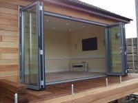 Sliding Aluminium Bi fold Doors and doorsets