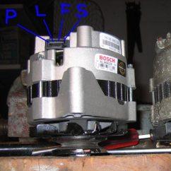 Wiring Diagram Of A Car Alternator Security Light Pir (electrical) 105 Amp Swap How To – Gm Cs130 - Rx7club.com Mazda Rx7 Forum