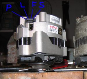 (ELECTRICAL) 105 Amp Alternator Swap HOW TO – GM CS130  RX7Club  Mazda RX7 Forum