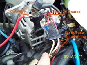 79 SA alternator upgrade  RX7Club  Mazda RX7 Forum