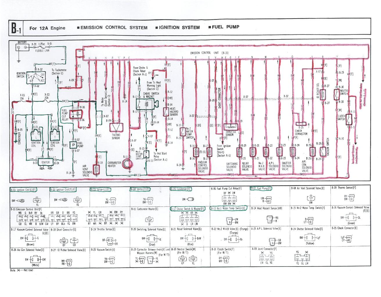 Generator Wiring Diagram And Electrical Schematics On Generator