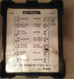 1986 rx 7 fuse box wiring diagram for you 2003 mazda 6 fuse box diagram mazda rx 7 fuse box diagram [ 1024 x 768 Pixel ]
