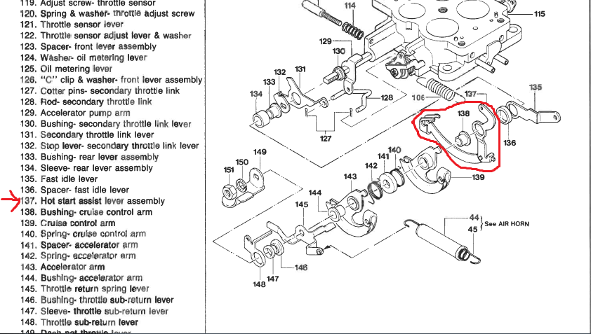 1987 Mazda B2200 Carburetor Diagram. Mazda. Wiring Diagram