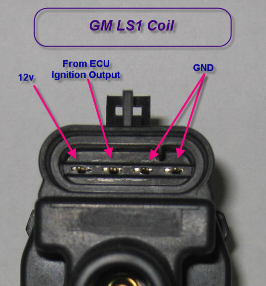 club car ignition wiring diagram lewis dot for of2 up ls1 coils to a e11 questions - rx7club.com mazda rx7 forum